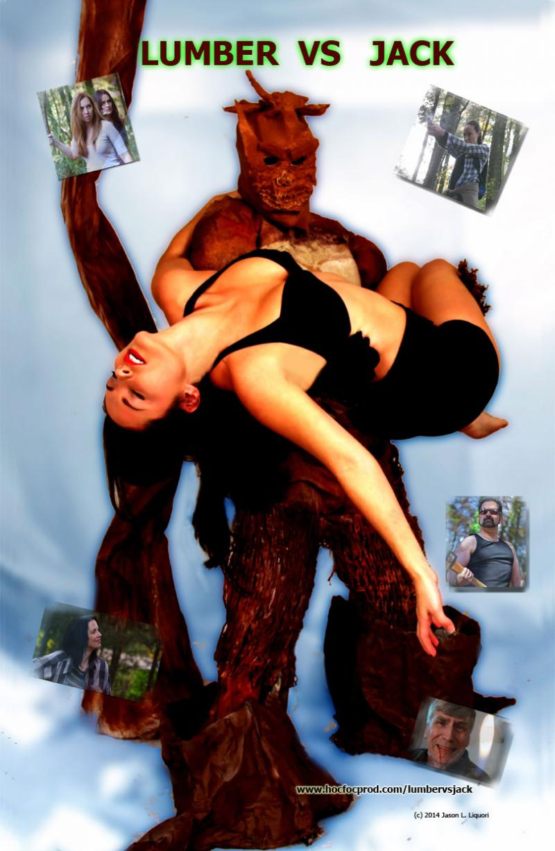 Treeman Monster carries Woman in Lumber vs Jack
