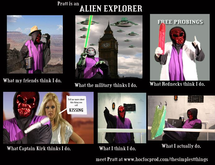 What Alien Explorers do