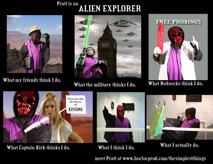 What Alien Explorers do